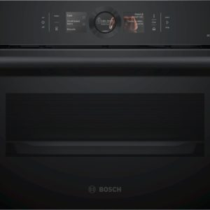 Serie | 8 Built-in compact oven with steam function
