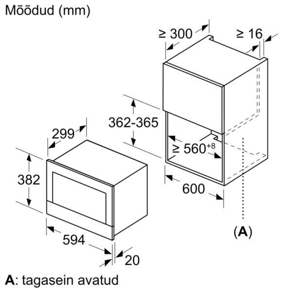 Integreeritav mikrolaineahi